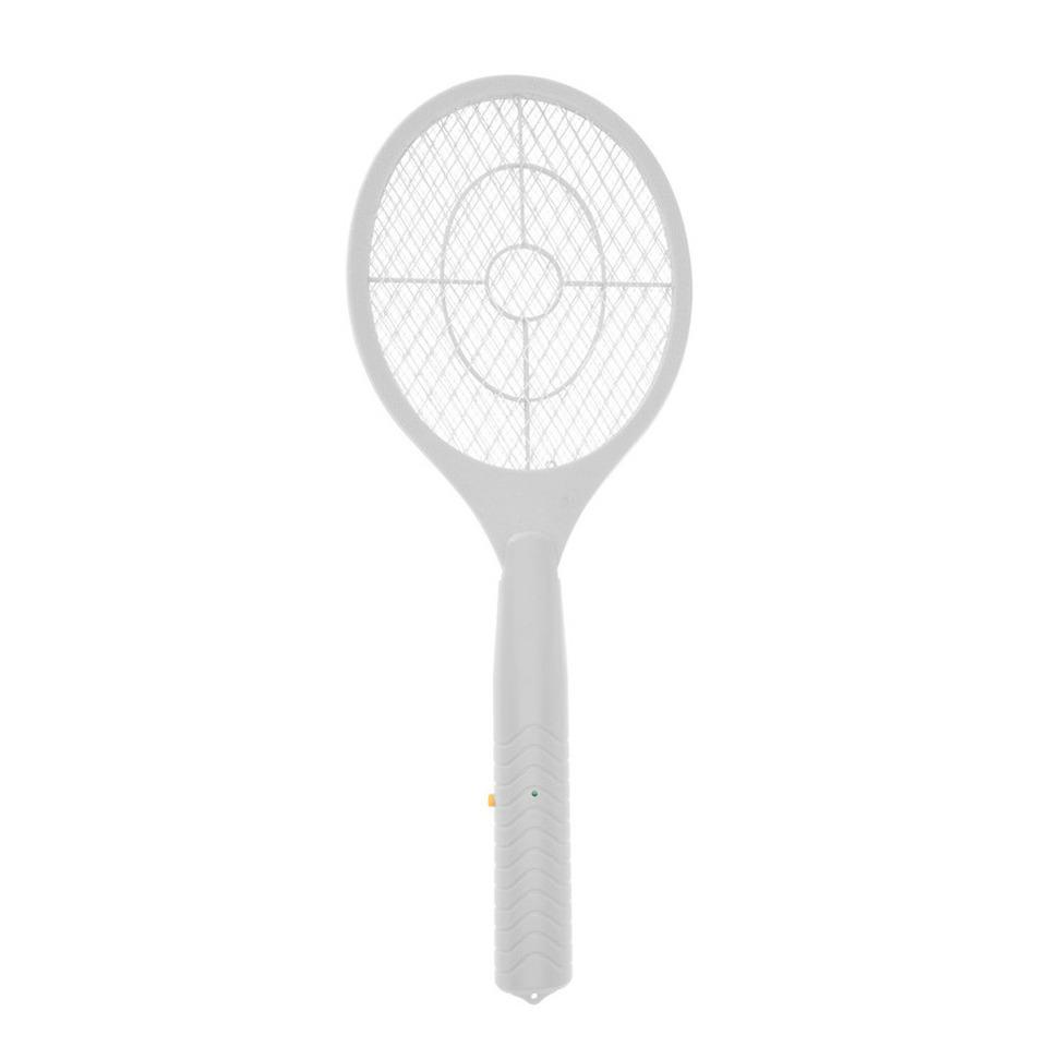 1x Stuks elektrische vliegenmeppers wit 46 cm