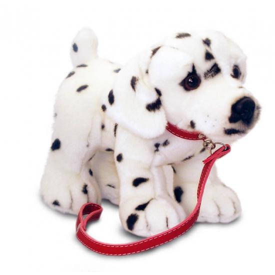 Aangelijnde knuffel Dalmatier