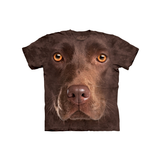 All-over print kids t-shirt bruine Labrador