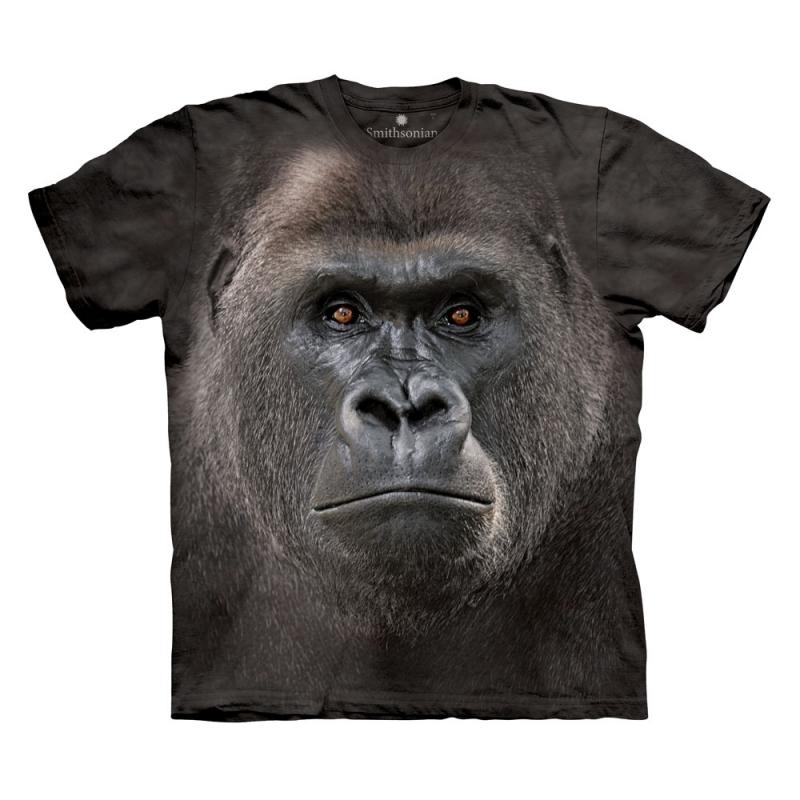 All-over print t-shirt met Gorilla