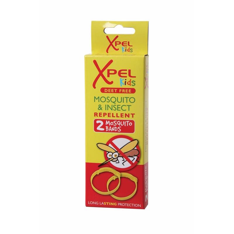 Anti-mug polsbandjes voor kinderen