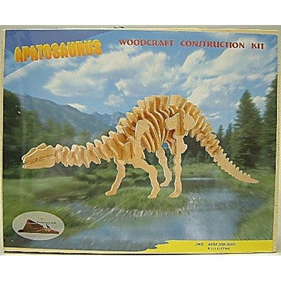Apathosaurus bouwpakket hout