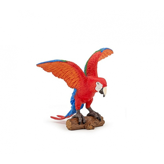 Ara papegaai speeldiertje 9 cm