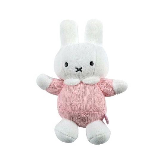 Baby Nijntje knuffeltje roze 18 cm