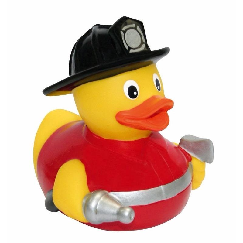Badeendje brandweerman