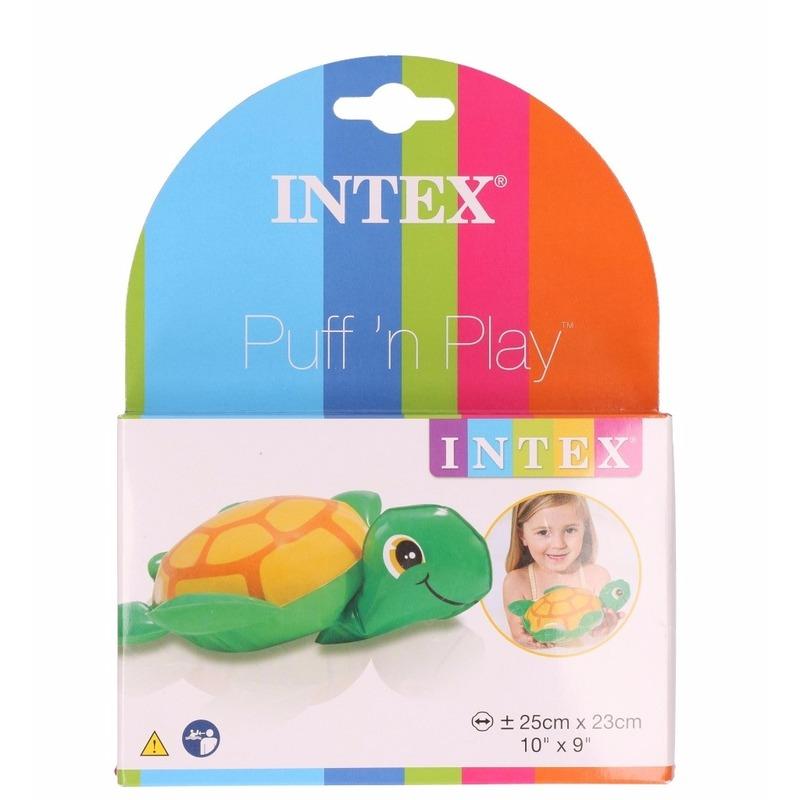 Badspeeltje opblaas schildpadje 25 cm