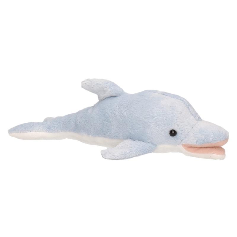 Blauwgrijze dolfijnen knuffels 26 cm knuffeldieren
