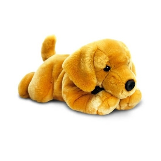 Blonde labrador knuffel 50 cm