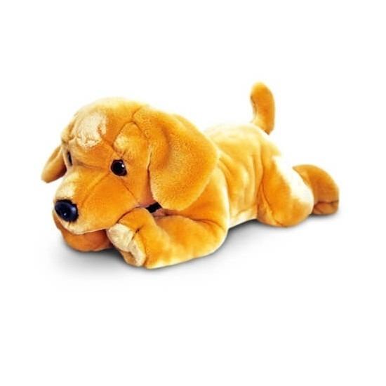 Blonde labrador knuffel 90 cm