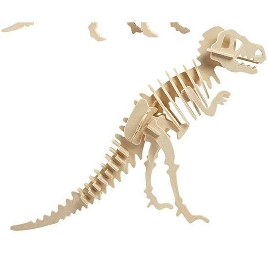 Bouwpakket hout Tyrannosaurus