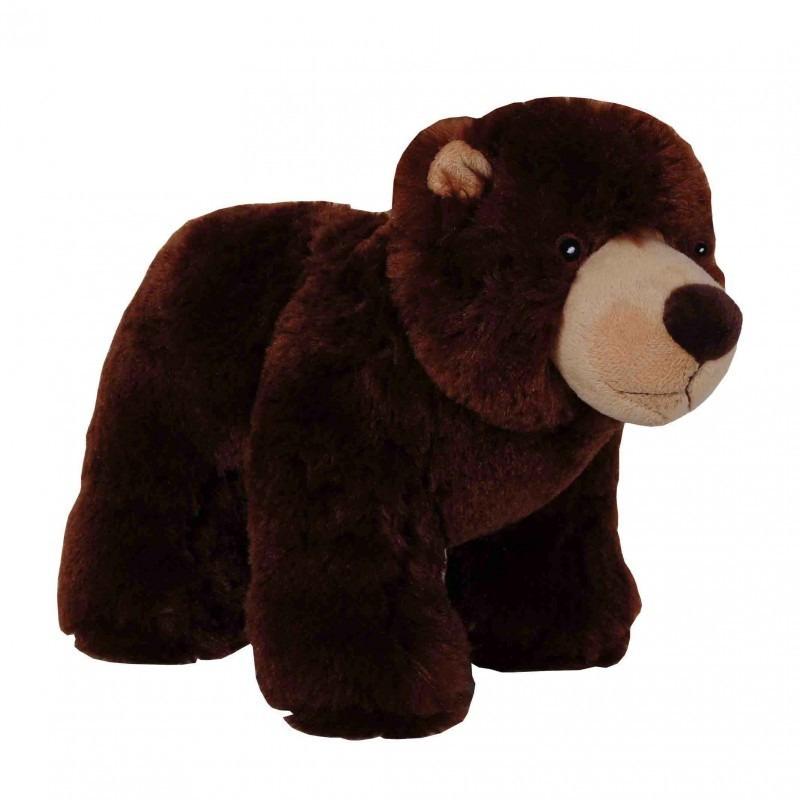 Bruine beer knuffel 35 cm knuffeldieren