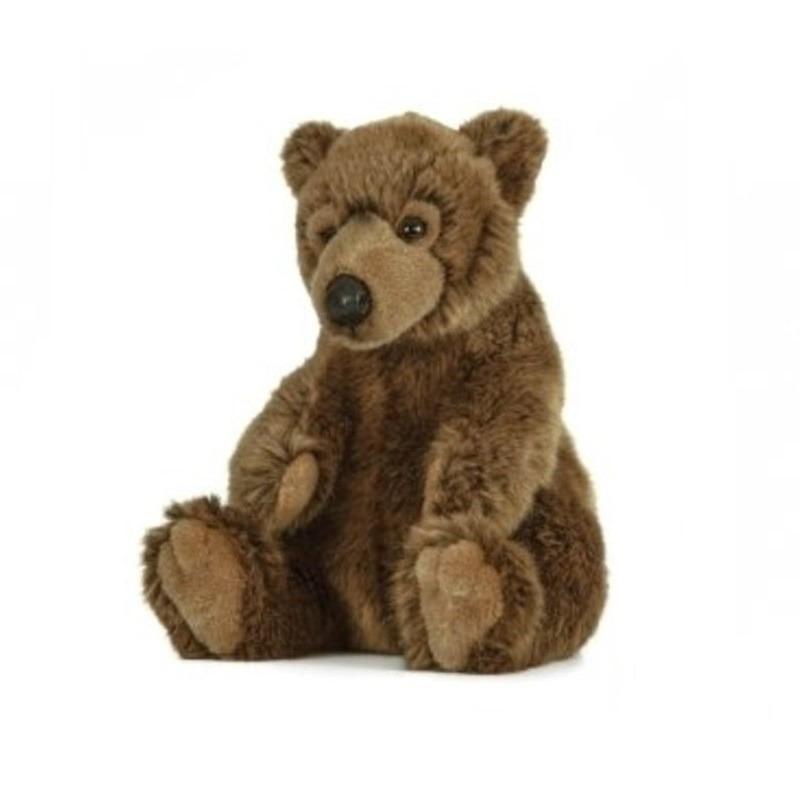 Bruine beren knuffel 25 cm knuffeldieren