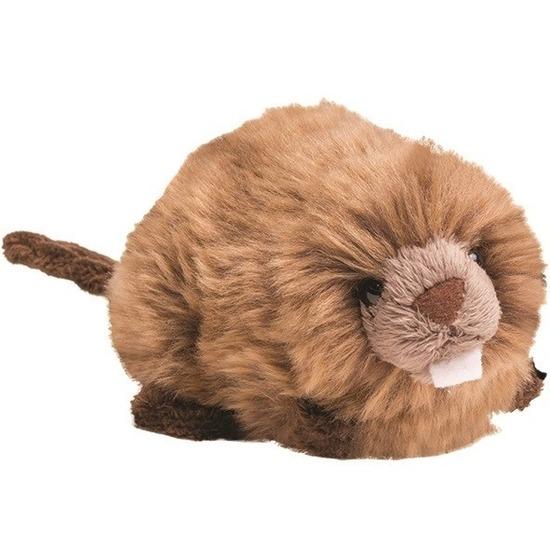 Bruine bevers knuffels 19 cm knuffeldieren