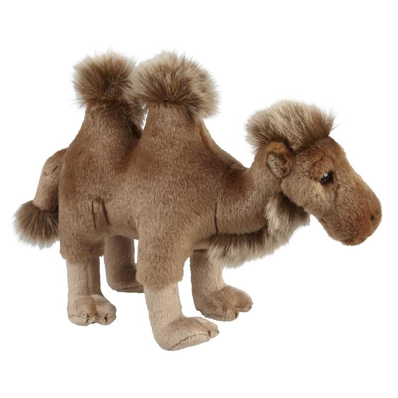 Bruine kamelen knuffels 28 cm knuffeldieren