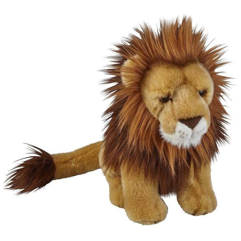 Bruine leeuwen knuffels 28 cm knuffeldieren