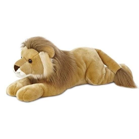 Bruine leeuwen knuffels 70 cm knuffeldieren