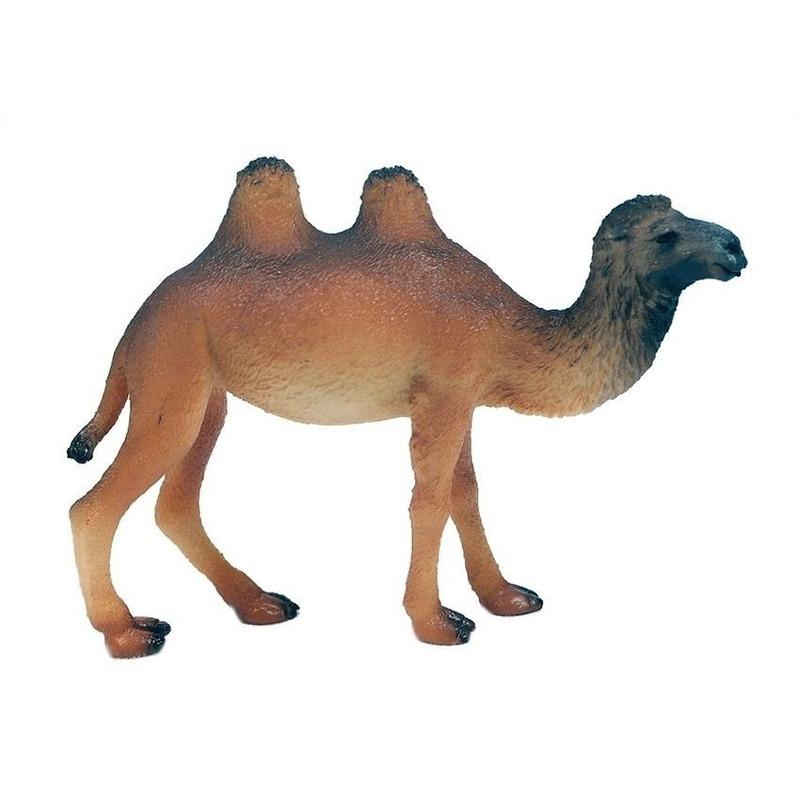 Bruine speelgoed kameel 10 cm