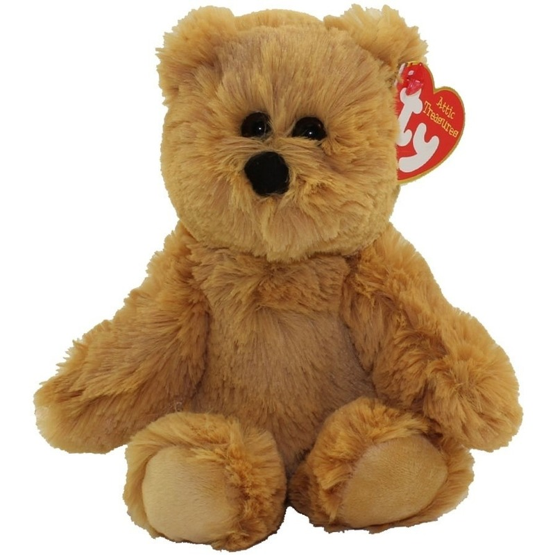 Bruine Ty Beanie beren knuffels Humphrey 20 cm knuffeldieren