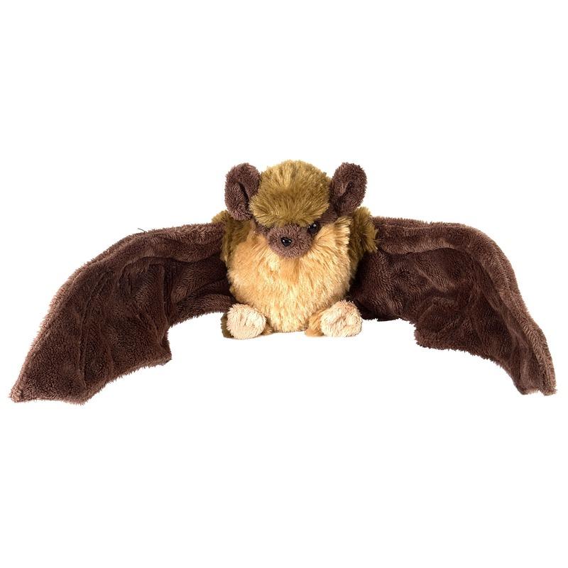 Bruine vleermuizen knuffels 30 cm knuffeldieren