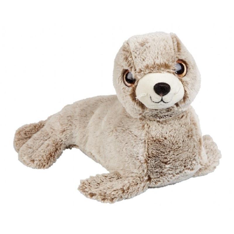 Bruine zeehond knuffel 36 cm knuffeldieren