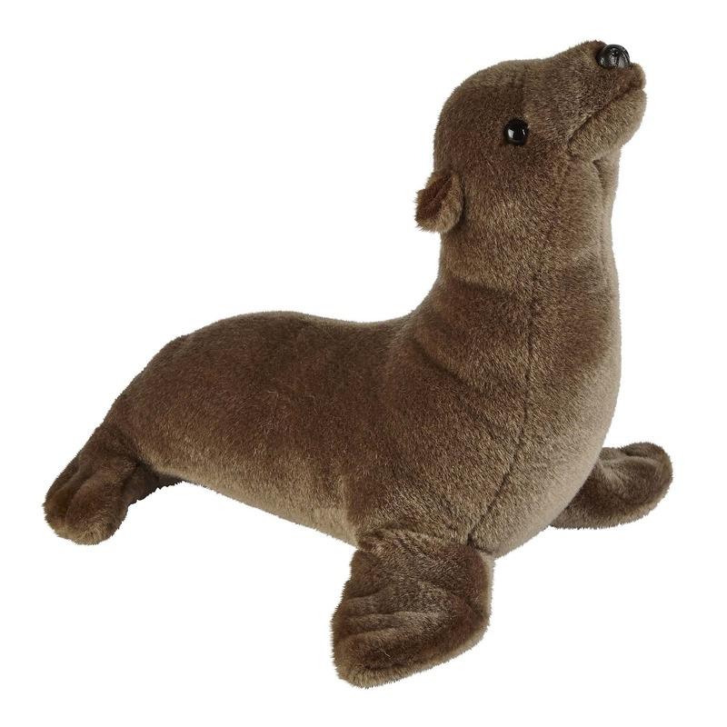 Bruine zeeleeuwen knuffels 37 cm knuffeldieren