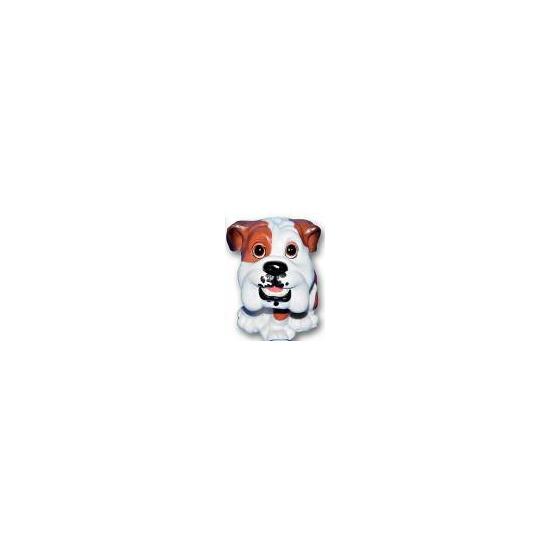 Bulldog puppy beeldje zittend 13 cm