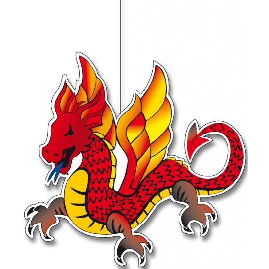 Chinese draak hangdecoraties