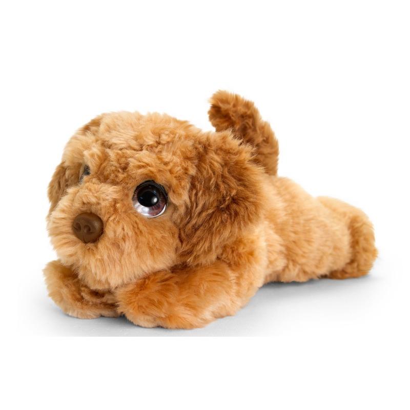 Cockapoo honden knuffeldier 25 cm