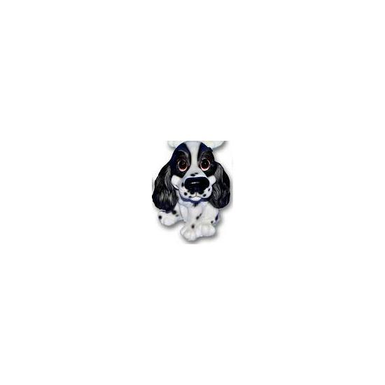 Cocker Spaniel puppy beeldje zittend 13 cm