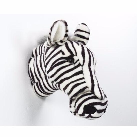 Decoratie kop zebra