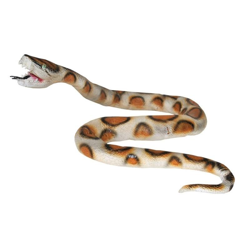 Decoratie python plastic 160 cm