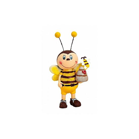 Decoratief mannen bijenbeeldje 6x13 cm