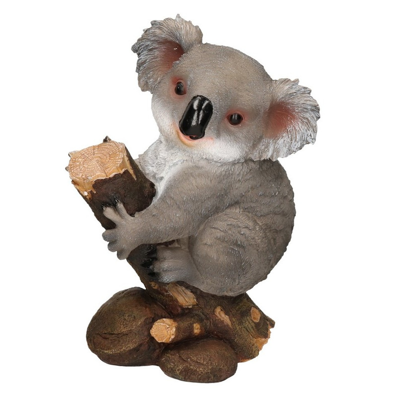 Dieren decoratie beeld koala 32 x 21 x 46 cm