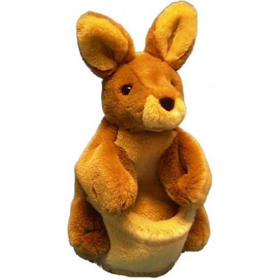 Dieren handpop kangoeroe