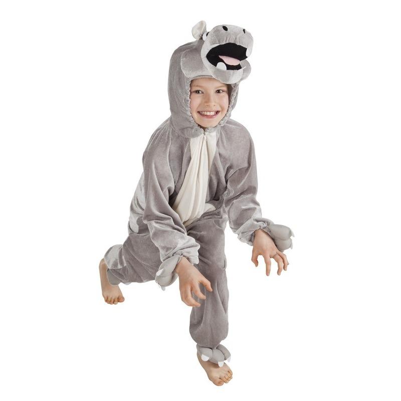 Dieren kostuum nijlpaard voor kinderen