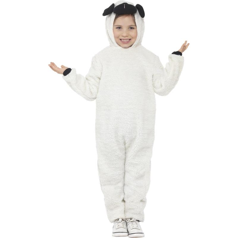 Dieren kostuum schaap voor kinderen