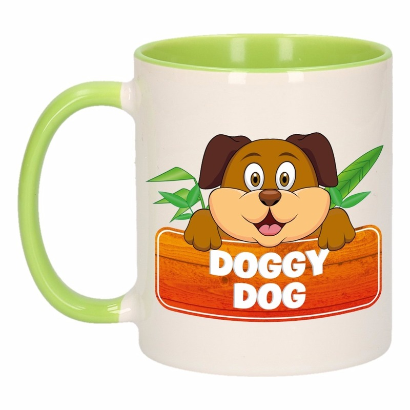 Dieren mok / honden beker Doggy Dog 300 ml