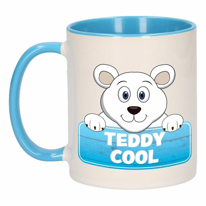 Dieren mok /ijsbeer beker Teddy Cool 300 ml