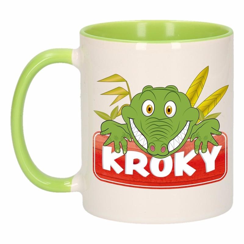 Dieren mok /krokodillen beker Kroky 300 ml