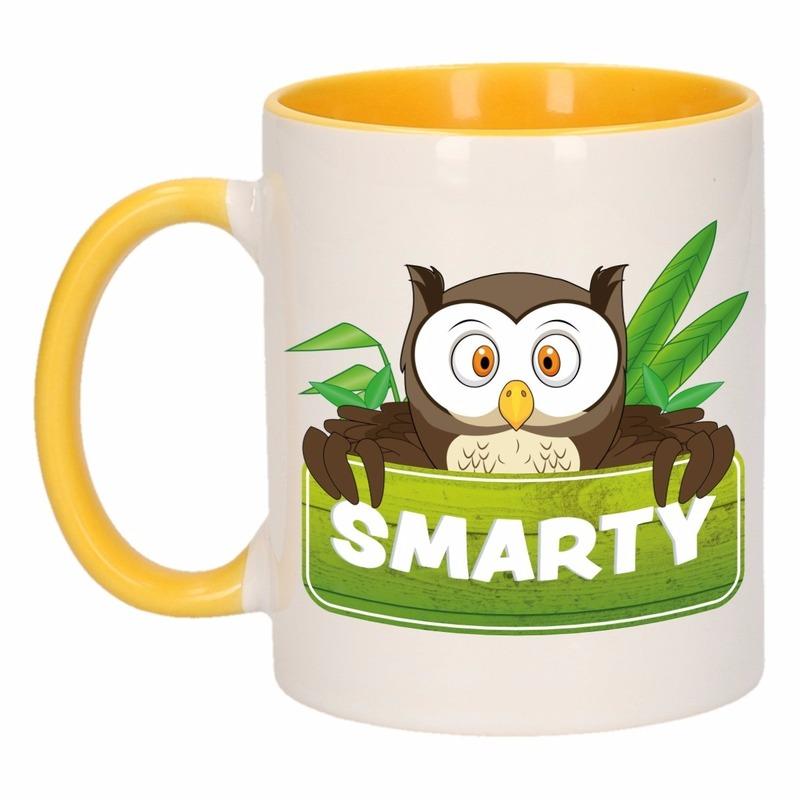 Dieren mok /uilen beker Smarty 300 ml