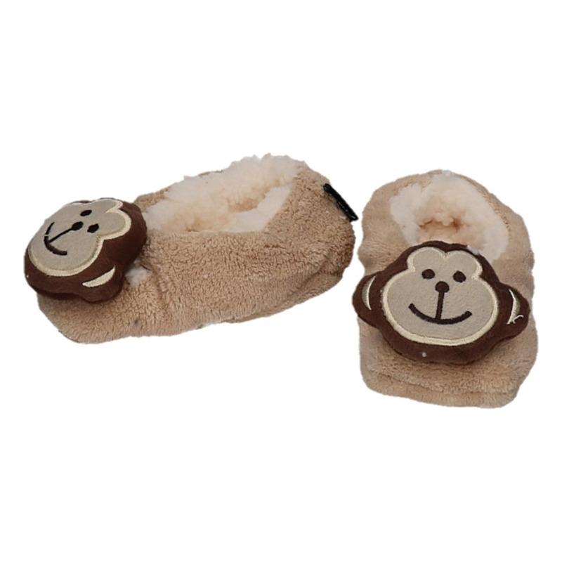 Dieren pantoffels/sloffen aap voor kinderen