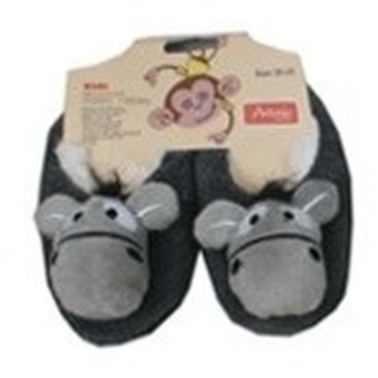 Dieren pantoffels/sloffen ezeltje voor kinderen