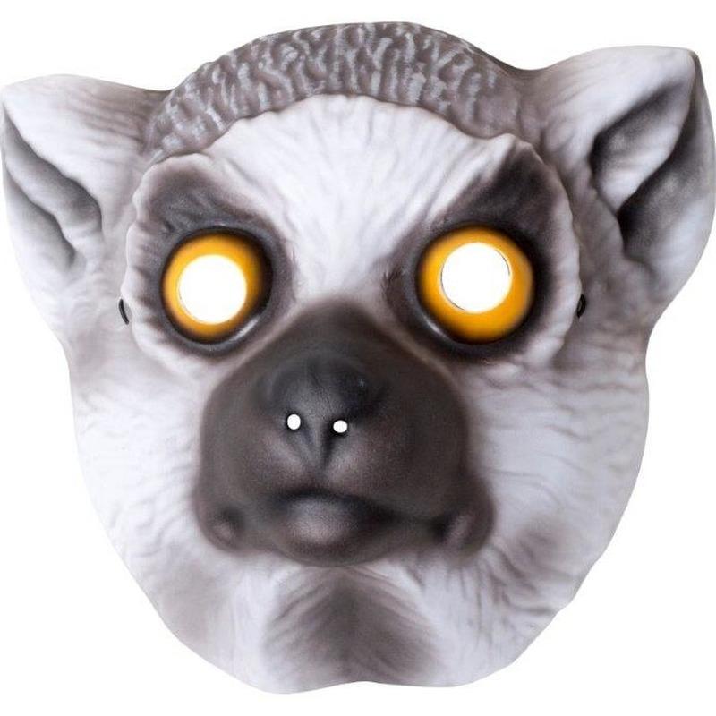Dierenmasker ringstaart maki voor kinderen