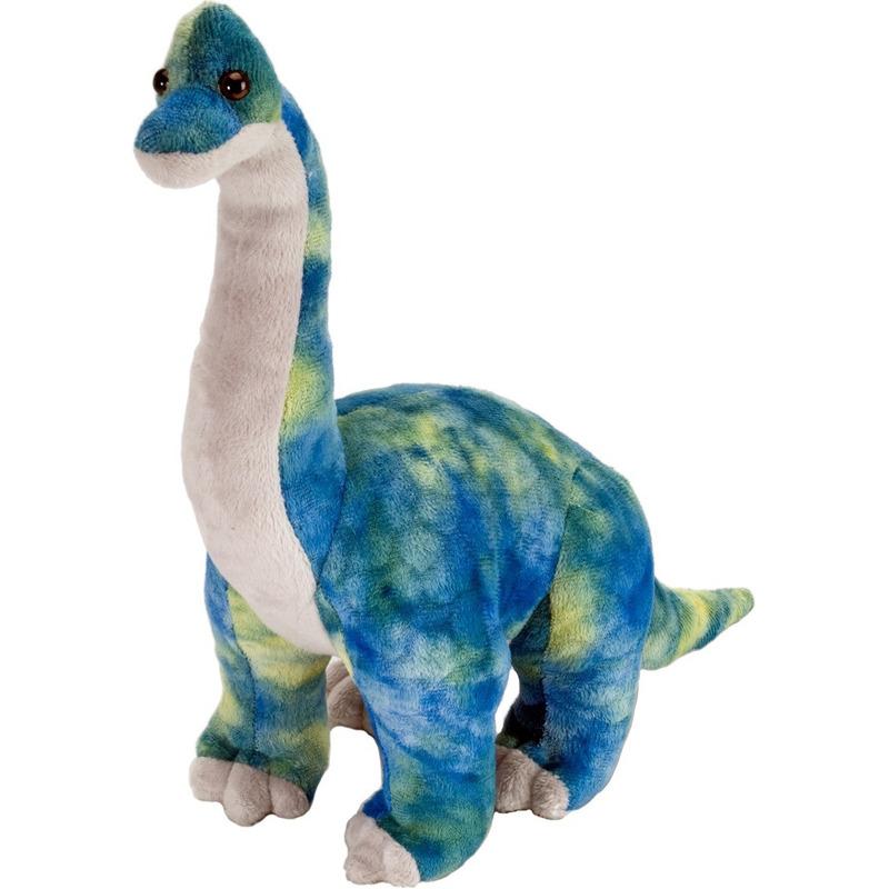 Dino Brachiosaurus knuffeldier 25 cm pluche