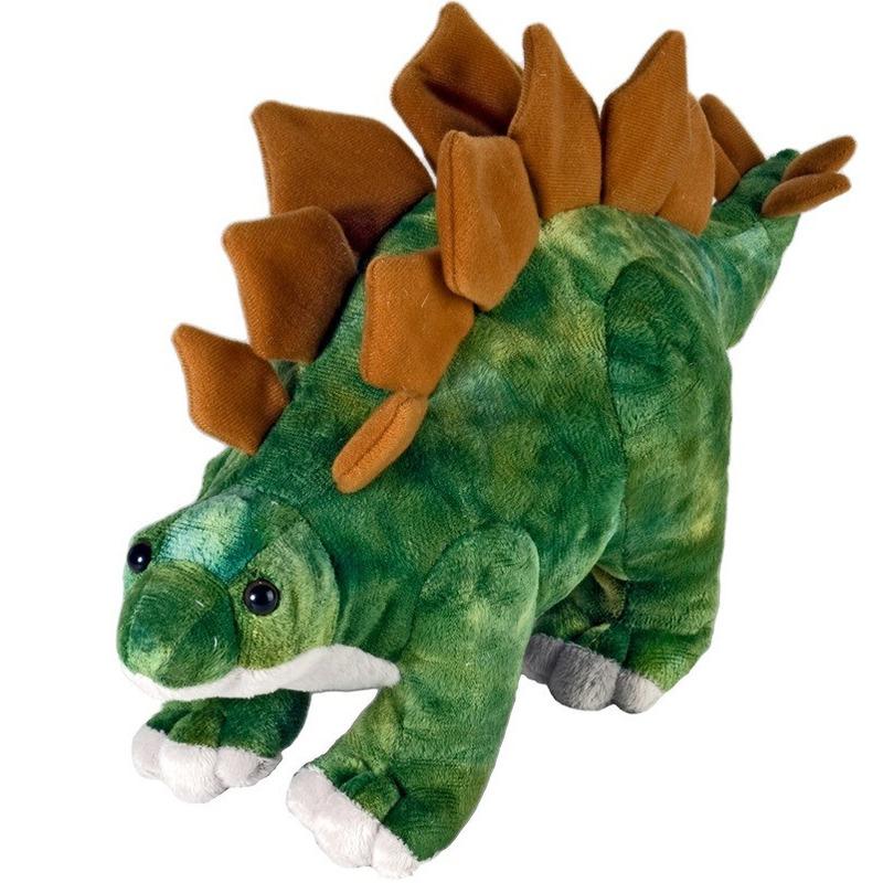 Dino Stegosaurus knuffeldier 25 cm pluche