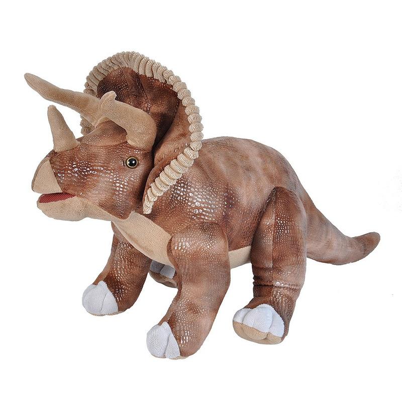 Dino Triceratops knuffeldier 63 cm pluche