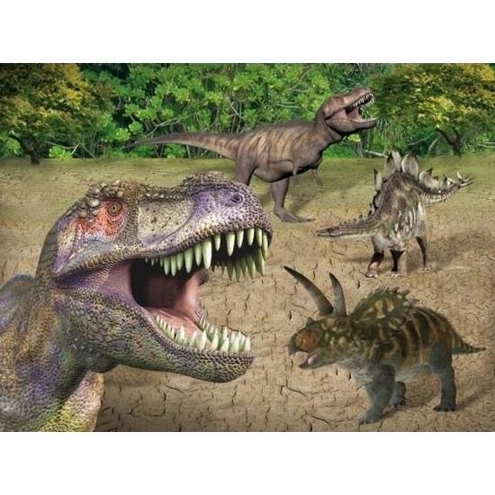 Dinosaurussen thema placemats 30 x 40 cm