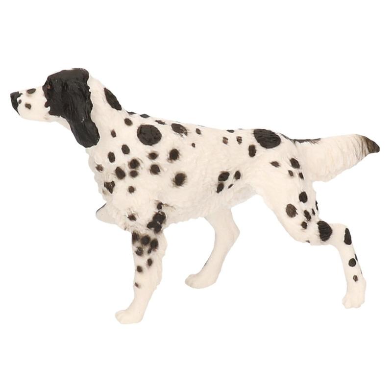 Engelse Setter hond plastic