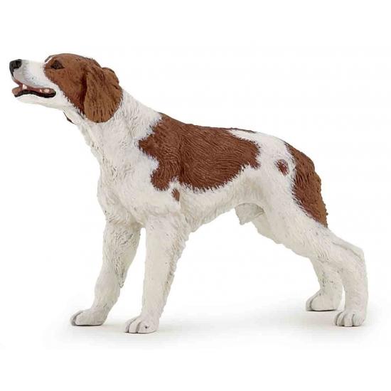 Epagneul Breton hond plastic