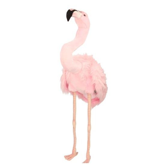 Flamingo knuffel 80 cm